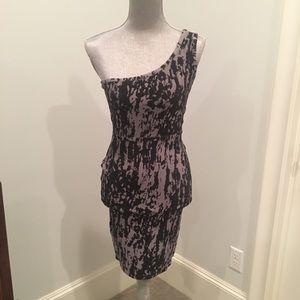 One Shoulder body conscious dress